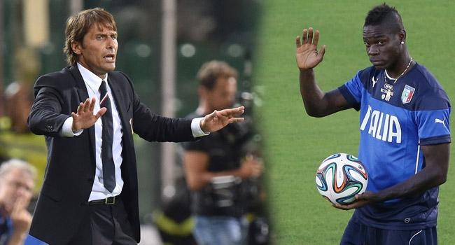 """Conte'den Balotelli'ye """"Hayır"""""""