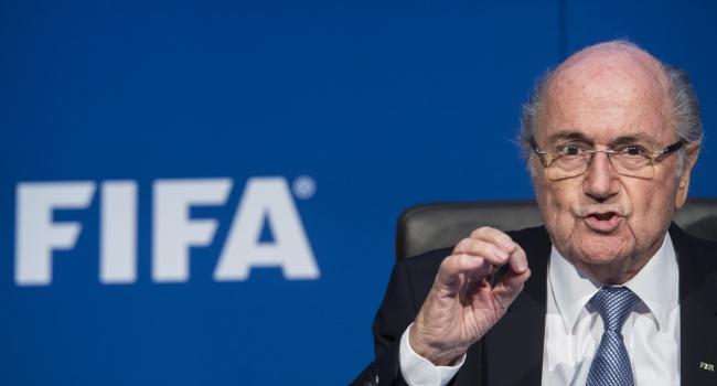 Blatter sonunda patladı