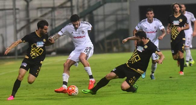 Beşiktaş-Osmanlıspor maçında 4 gol