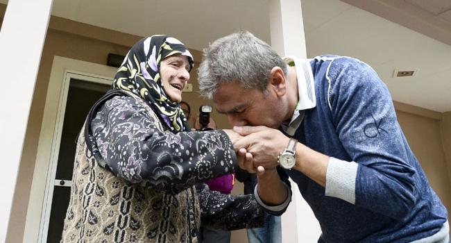 Hamzaoğlu'ndan köyüne ziyaret