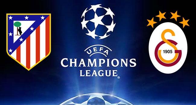 Galatasaray Madrid deplasmanında