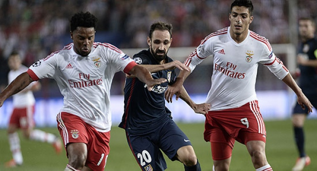 Benfica ile A.Madrid turladı