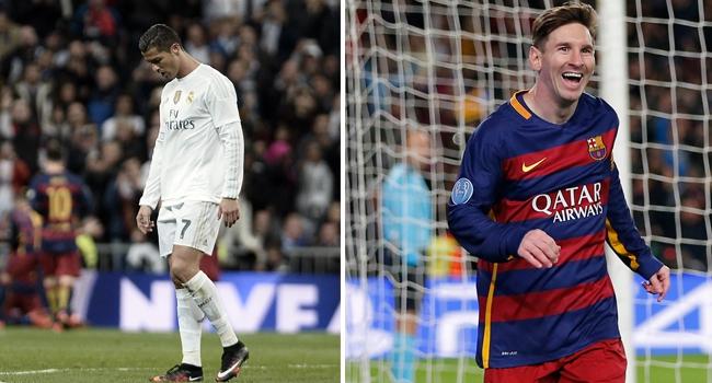Messi Ronaldo'yu geçti