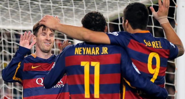 Barça'yı ''müthiş üçlüsü'' taşıyor