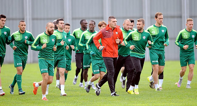 Bursaspor, Uşakspor maçına hazırlanıyor