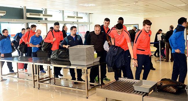 Trabzonspor dev maç için İstanbul'a gitti