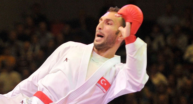 Milli karateci Rusya'ya alınmadı