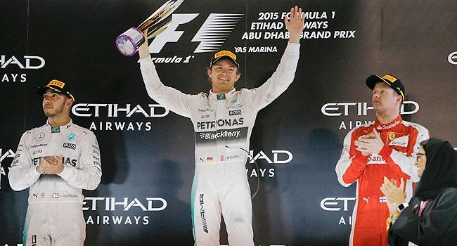 Rosberg sezonu galibiyetle noktaladı