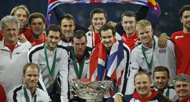 Davis Kupası'nda şampiyon Büyük Britanya