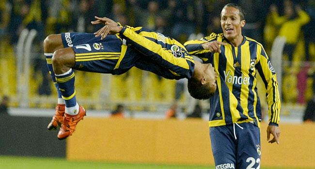 Fenerbahçe Nani ile zirve yaptı!
