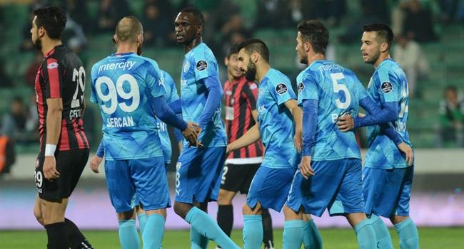 Bursaspor sürprize izin vermedi!