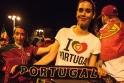 Portekizliler işte böyle coştu