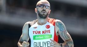 Guliyev, erkekler 200 metrede ikinci oldu