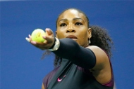 Serena kortlara mağlubiyetle döndü