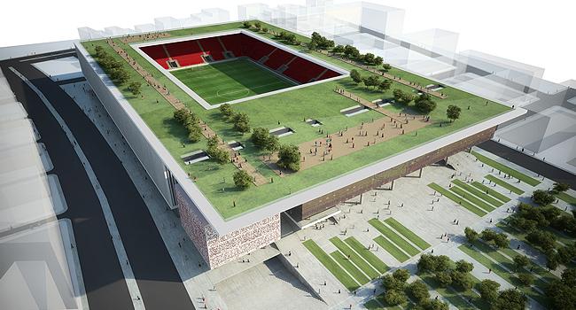 İşte Göztepe'nin yeni stadı | TRT Spor Foto Galeri
