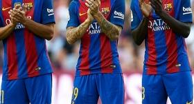 Barcelona siyah bantla çıkacak!