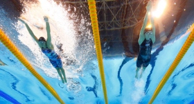 Dünya Gençler Yüzme Şampiyonası'nda Türkiye rekoru