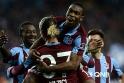 Trabzonsporun tarihi maçından kareler