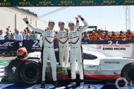 Le Mans 24 Saatte Porscheden üst üste 3. zafer