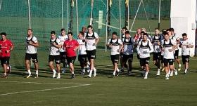 Beşiktaş İspanya'daki ilk çalışmasını yaptı
