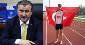 Bakan Bak'tan milli atlet Süzen'e tebrik