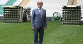 Bursaspor'un stadında hibrit çim