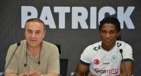 Patrick Friday Eze Atiker Konyaspor'da