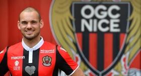 Sneijder'siz Nice, Napoli'ye yenildi