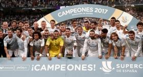 Sezonun ilk kupası Real Madrid'in
