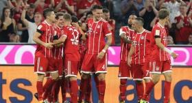 Bayern bıraktığı yerden