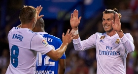 Real Madrid'den Deportivo'ya fark