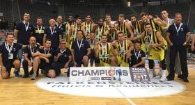 Zadar'da şampiyon Fenerbahçe Doğuş