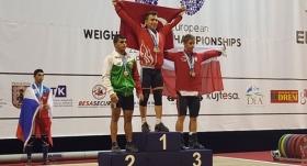 Caner Toptaş Avrupa Şampiyonu