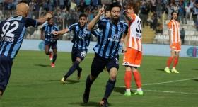 Derbide zafer Adana Demirspor'un