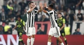 Juventus evinde yıktı