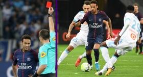 Marsilya-PSG maçında 4 gol, 1 kırmızı!