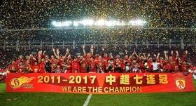 Guangzhou Evergrande üst üste 7. kez şampiyon!