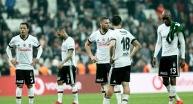 Beşiktaş evinde galibiyete hasret kaldı