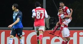 Braga-Hoffenheim maçında 4 gol, 1 kırmızı