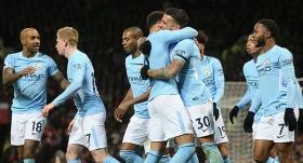 Manchester United'ı yenen Manchester City'den rekor