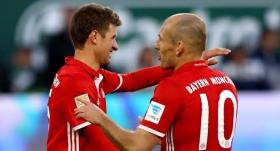 Robben ve Müller'den Beşiktaş yorumu