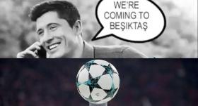 Bayern Münih'ten Beşiktaş paylaşımı