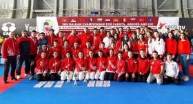 Karatecilerimiz Balkan şampiyonu