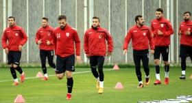 Samsunspor'da futbolcular galibiyete şartlandı