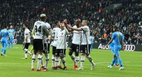Beşiktaş, zirveye biraz daha yaklaştı
