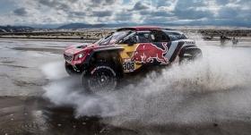 Dakar Rallisi'nde 11. etap sona erdi