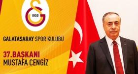 Cengiz, Galatasaray'ın 37. başkanı oldu
