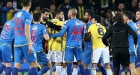 Kadıköy'de maç sonunda gerginlik