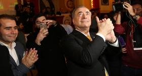 Mustafa Cengiz ve ekibi seçim zaferini kutladı