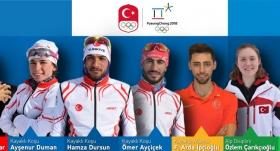 PyeongChang Kış Olimpiyatları'na Türkiye'den 8 sporcu